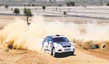 Rally driver Azim Somji puts on his racing suit, wins major sponsorship