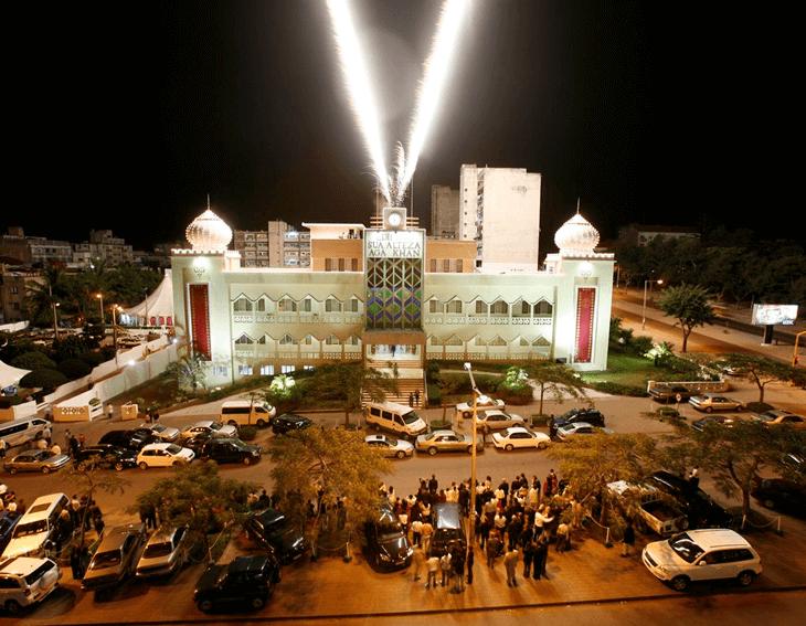 Jamat Khana in Mozambie - now