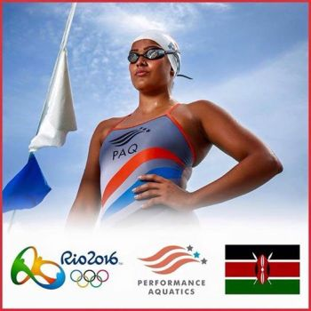 Kenyan Talisa Lanoe - 2016 Rio Summer Olympics