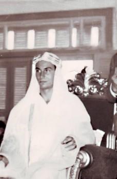 Mawlana Hazar Imam in Syria, 1959