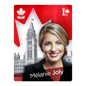 Minister for Canadian Heritage, Mélanie Joly