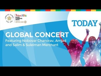 Live Webcast of Global Concert at Jubilee Games Dubai to start shortly