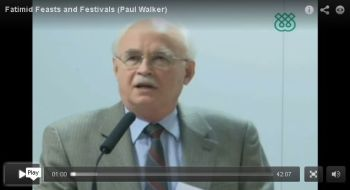 Fatimid Feasts and Festivals: 'Id al-Fitr - A talk by Professor Paul Walker
