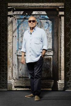 Portrait of Abbas Kiarostami. Photo by Janet Kimber.