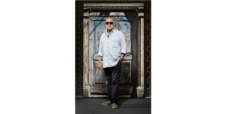 Portrait of Abbas Kiarostami. Photo by Janet Kimber.