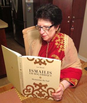 Rosila Jessa reading past history