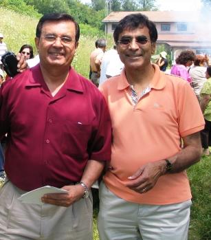 Sadru Pyarali left, chair and Mithu Gillani, treasurer
