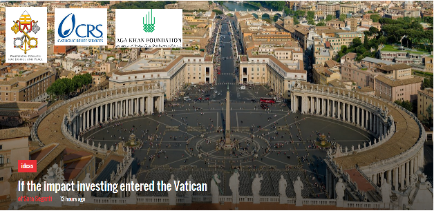 Vatican explores Impact Investing, Aga Khan Foundation shares experiences