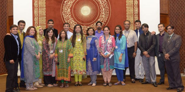 Every single day, over 200 volunteers make a difference, at the Aga Khan University