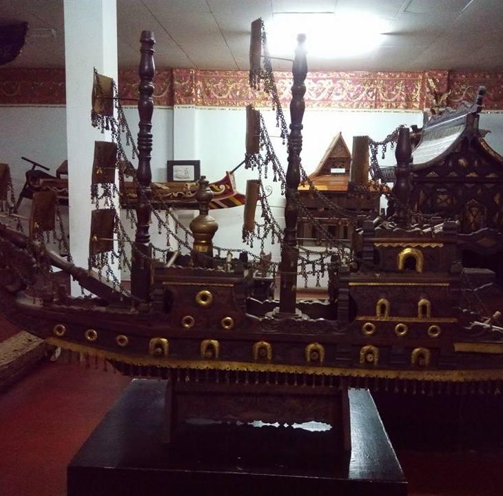 Inside the Aga Khan Museum, Mindanao State University, Marawi, Philippines