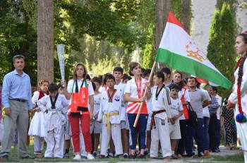 Tajikistan Honours Jubilee Games Dubai Athletes