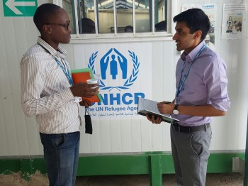 Malik Ladhani '18 on working for the United Nations High Commissioner for Refugees in Jordan