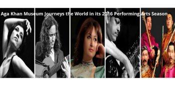Aga Khan Museum's 2016 Performing Arts Season