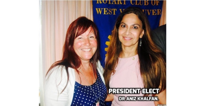 2016 Installation Speech by President Dr Aniz Khalfan of Rotary Club of West Vancouver