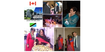 Organizers of Arusha Ismaili Reunion in Calgary lauded for a most memorable event!