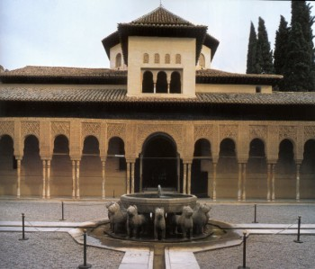Court of Lions: Image: J.B. Lopez/Islam: Art and Architecture