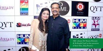 Philanthropists physicians of AKU produce Pakistani movie to spread positive culture