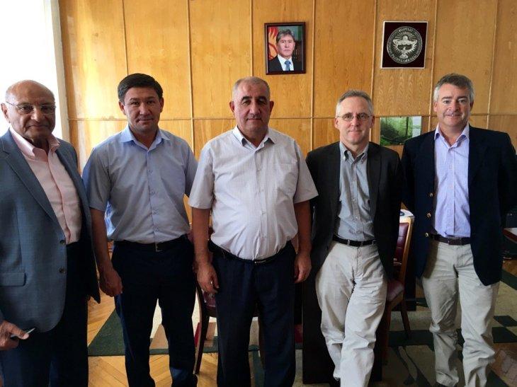 British Ambassador to Kyrgyzstan, Shams Kassam-Lakha