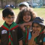 Kids of 40th Edmonton Ismaili Scouts