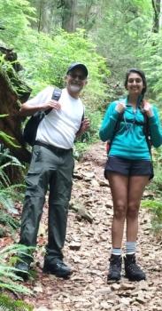 Salim Kamani & daughter Safiya: Richmond dentist set to tackle Kilimanjaro