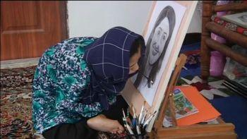 Disabled Afghan girl painter dreams of international fame | Reuters