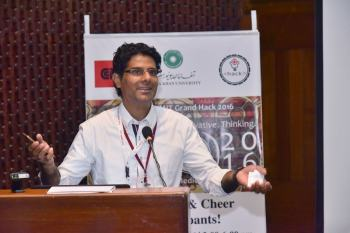 Innovative app wins top prize at Aga Khan University's first-ever Hackathon