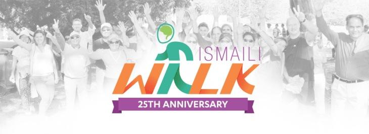 Banner of Ismaili Walk 2016