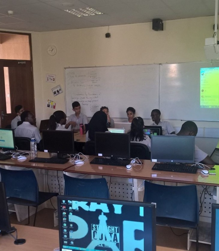 Aga Khan Academy Mombasa: Celebrating learning without borders through Microsoft's Skype-a-thon