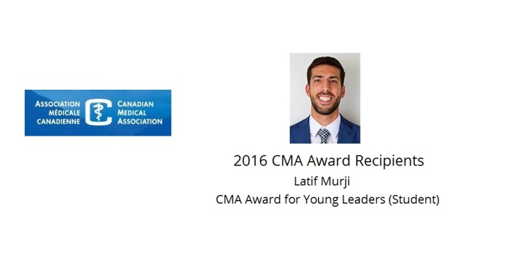 Latif Murji CMA Award for Young Leaders (Student)