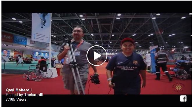 Meet Qayl Maherali, a 12 year old reporter asking big questions at the Jubilee Games - The Ismaili