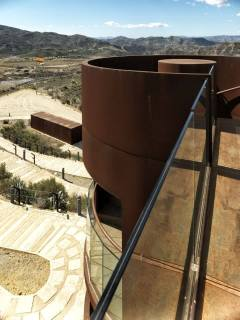The platform at the top of the Nasrid Tower, Almeria, Spain