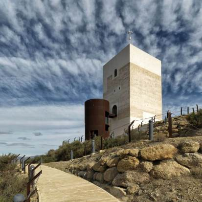 Access to the Nasrid Tower, Almeria, Spain