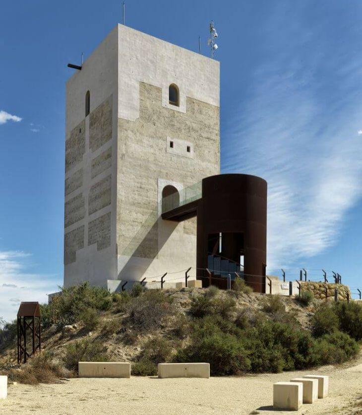 Aga Khan Award for Architecture 2014-2016 Cycle (Shortlisted Project # 6): Restoration of Nasrid Tower, Almeria, Spain