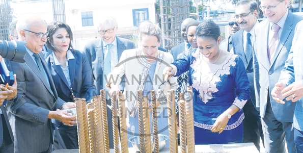 Ummy Mwalimu, Princess Zahra Aga Khan, Phase II construction of the Aga Khan of the Aga Khan Health Hospital