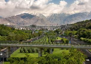 Aga Khan Award for Architecture 2014-2016 Cycle (Shortlisted Project # 2): Tabiat Pedestrian Bridge Tehran, Iran
