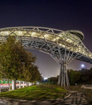 Tabiat - Pedestrian Bridge - Tehran, Iran