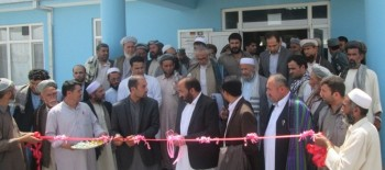 Implemented by the Aga Khan Foundation, New Hospital for 30,000 People in Afghanistan