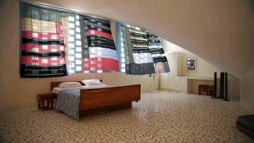 Bedroom of the artist residency - AKTC / Dev TV