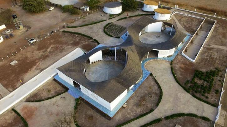 Aerial View - AKTC / Dev TV