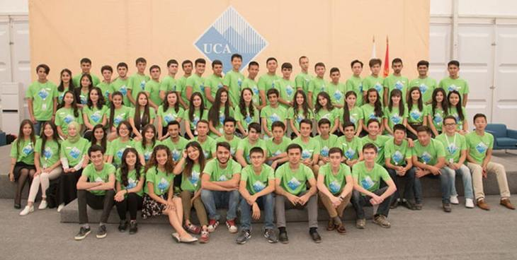 University of Central Asia's first undergraduate students start their educational journey