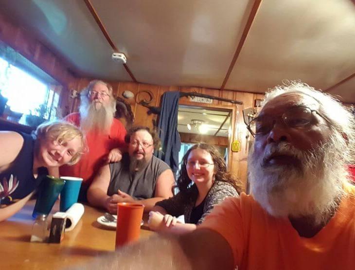 WLCN 96.3 FM - Viewpoint with Bill Gossett & Judy Busby: Interview with Route 66 Trekker Rasheed Hooda