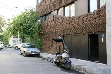 brick material, 40 Knots House, Tehran, Iran