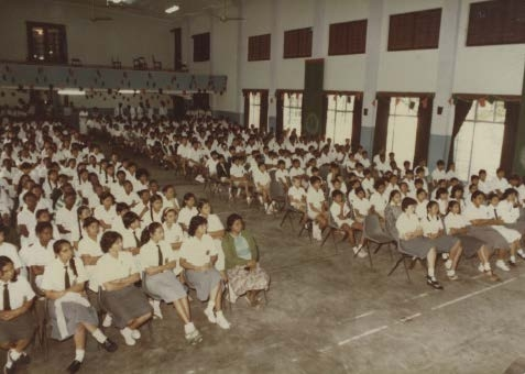 Aga Khan High School, Mombasa, established 1918