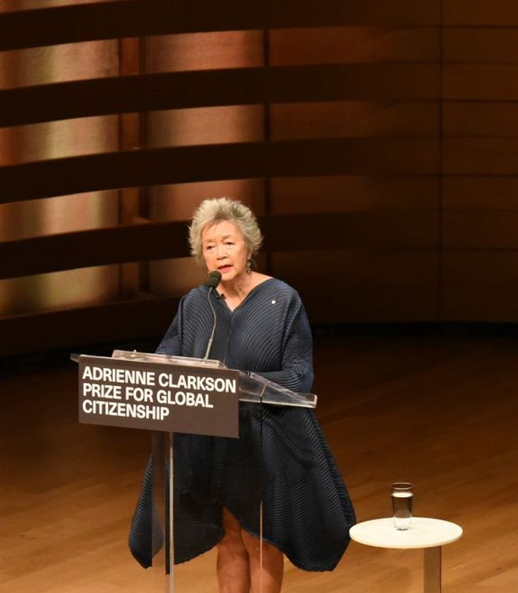 Remarks by The Right Honourable Adrienne Clarkson, Adrienne Clarkson Prize for Global Citizenship