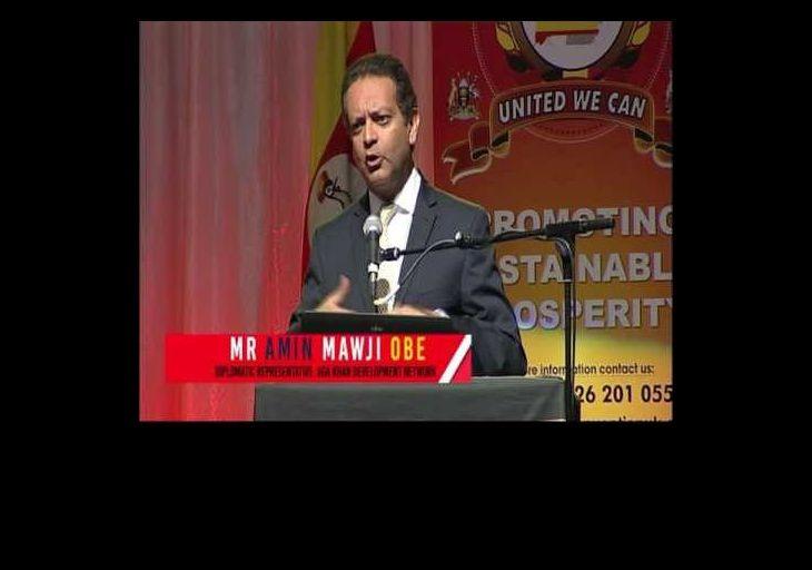 Ugandan Convention: Amin Mawji OBE, Diplomatic Representative, Aga Khan Development Network in Uganda
