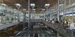 The concourse, Casa-Port New Railway Station, Casablanca, Morocco