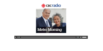 Rt. Hon. Adrienne Clarkson on CBC Radio Toronto Metro Morning declares His Highness the Aga Khan, the first recipient of Global Citizenship Award
