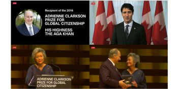 Live Webcast: Inaugural Adrienne Clarkson Prize has started