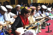 Leif Larsen Music Centre Altit Hunza participate in the 'Roof of the World' (Bam-i-Dunya) festival Gulmit, H unza