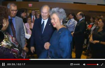 Global News Canada: His Highness The Aga Khan receives Adrienne Clarkson Prize for Global Citizenship